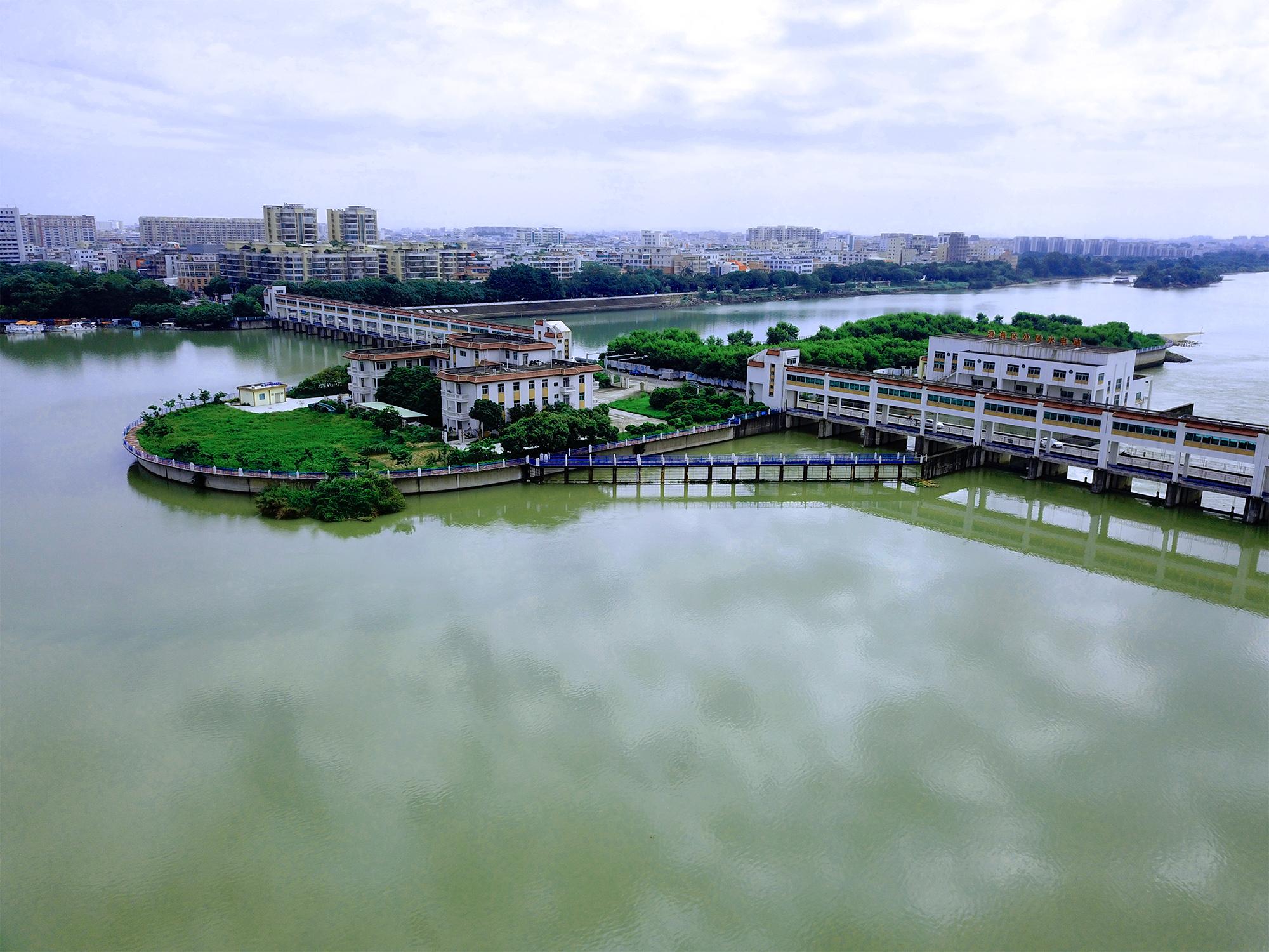 汕头市澄海区外沙桥闸水电站