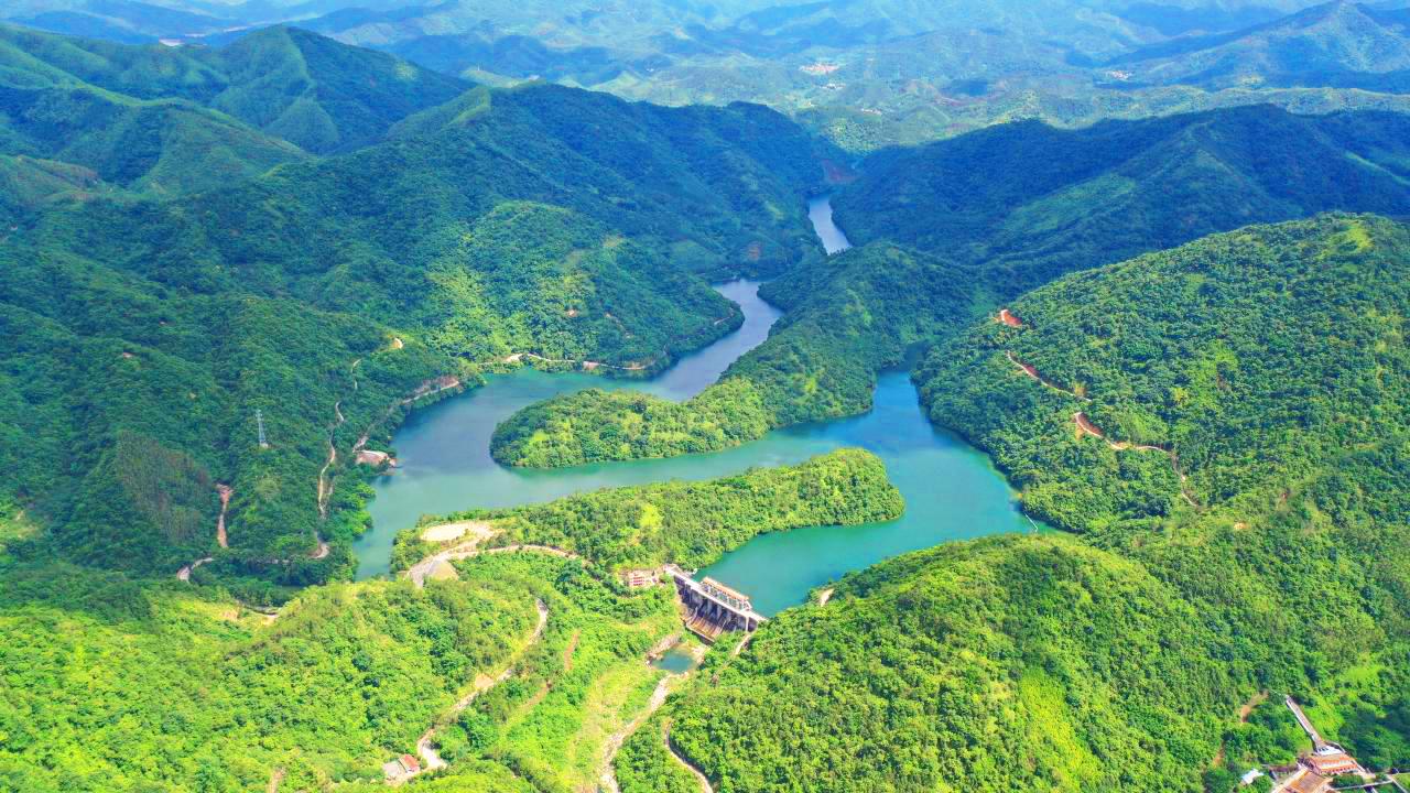 北峰山水库水电站库区