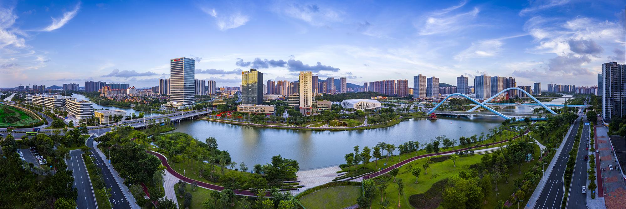 美丽蕉门河 来源:广州市水务局
