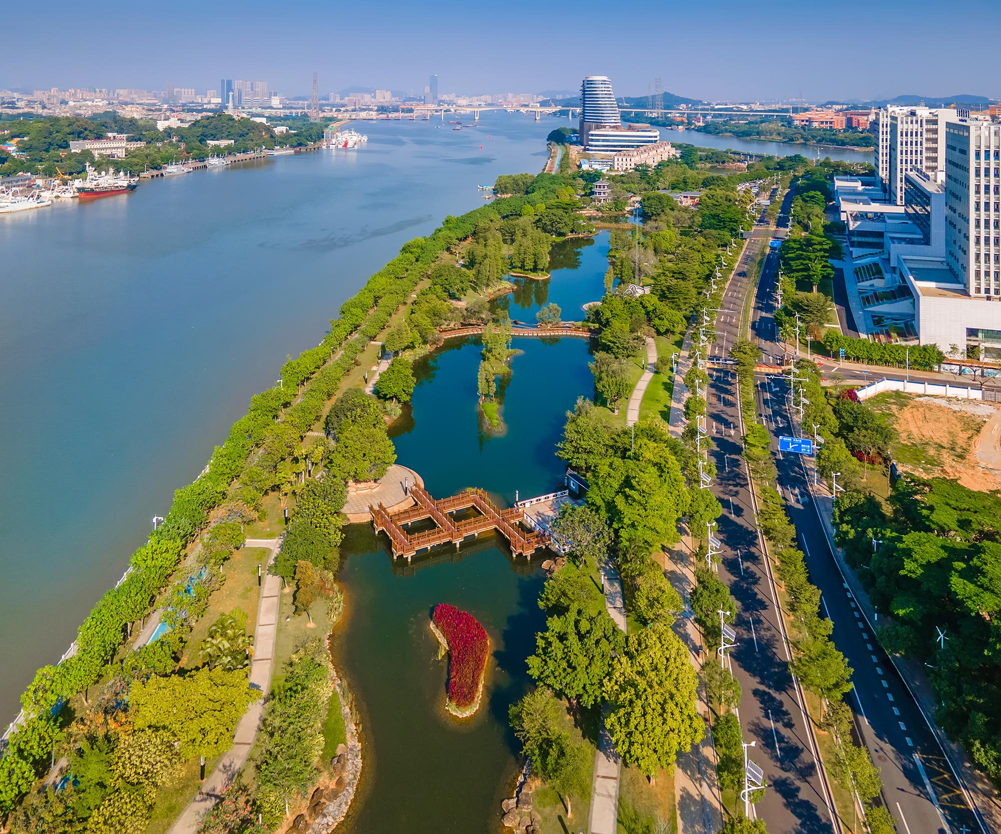 -依水而建(生物岛) 来源:广州市水务局